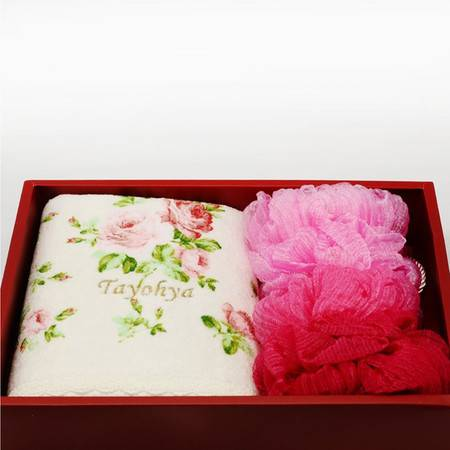 TAYOHYA/多样屋 TA310701126ZZ 花园玫瑰沐浴礼盒-粉