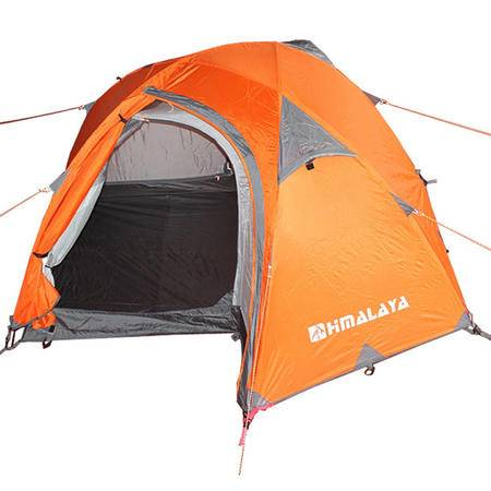 Himalaya/喜马拉雅 芳草园2代双层大尺寸单人三季帐篷 橙色