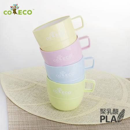 COECO/可爱客 日式双色咖啡杯/水杯