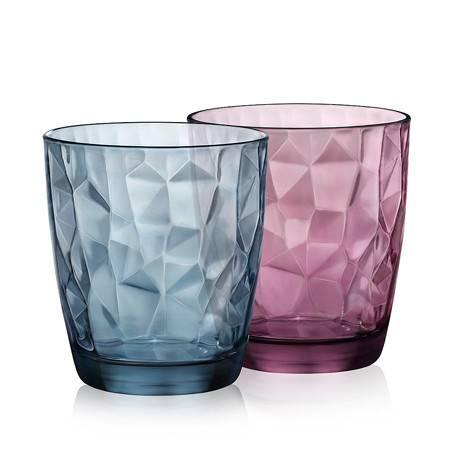 Bormioli Rocco波米欧利•罗克 玻璃 钻石璀璨水杯2件套 ACTB-S003Z