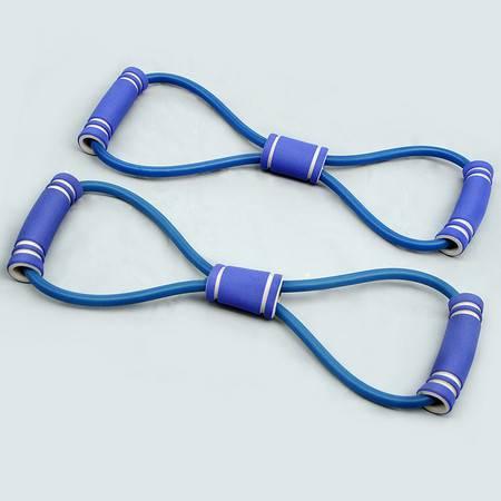 仕凯8字拉力器 乳胶扩胸器拉力器瑜伽拉力绳健身器材弹力绳臂力器