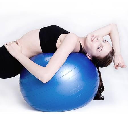 瑜伽球瘦身减肥球郑多燕健身球加厚瑜珈球孕妇防爆球正品赠送气泵