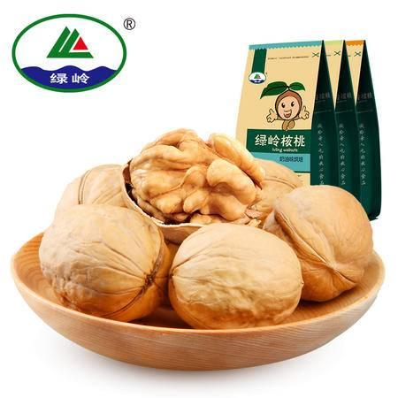【绿岭】坚果炒货零食 多味烤制核桃组合装 奶油/蜂蜜/五香 350g×3袋