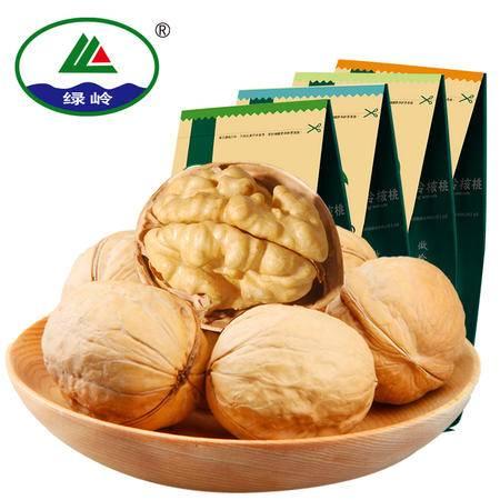 【绿岭】坚果零食 薄皮多味核桃组合装 原味/奶油/蜂蜜/五香 150g×4袋