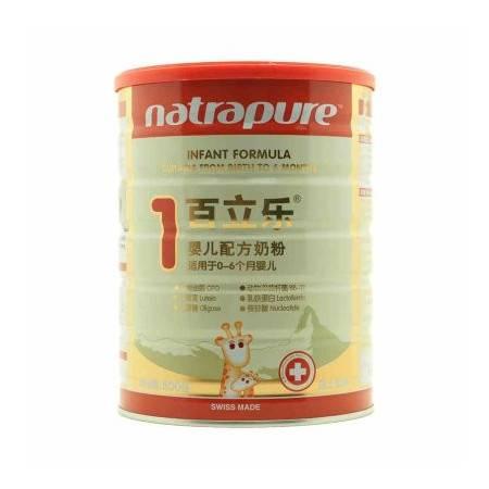 百立乐瑞士原装进口,采用鲜奶直接制造OPO婴儿配方奶粉1段800g