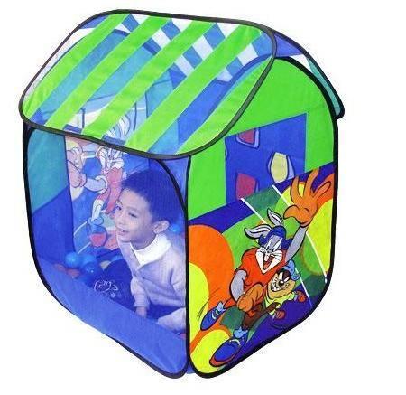 蓝鹰玩具 童之宝儿童帐篷 宝贝运动屋带45个海洋球