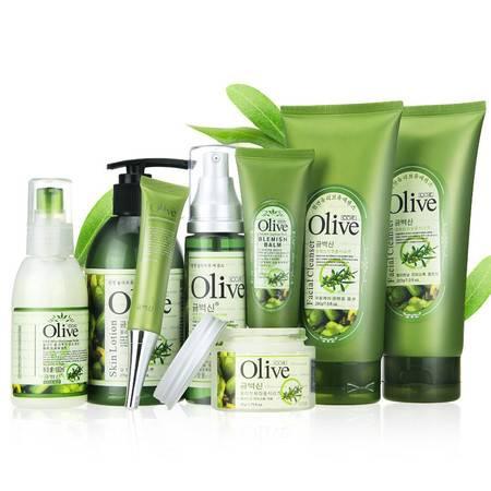 韩伊CO'E橄榄olive套装保湿补水护肤八件套