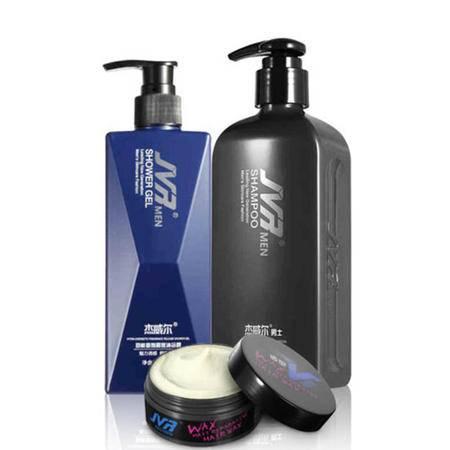 杰威尔 男士洗护造型套装 洗发露沐浴露发蜡发泥洗头水洗发水