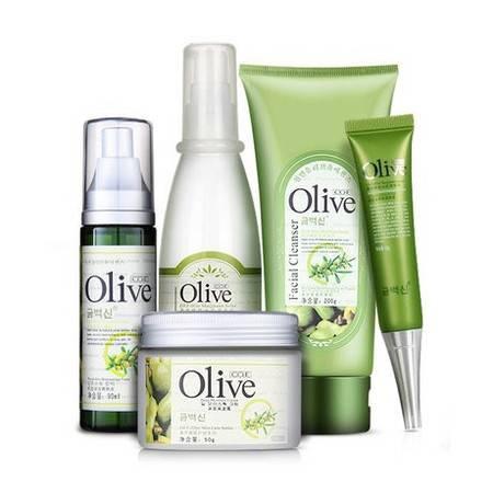 韩伊Olive橄榄保湿补水5件套 护肤保湿滋润补水
