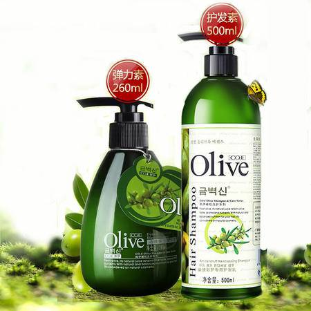 CO.E/韩伊 橄榄护发素弹力素套装自然卷发微造型烫染修护