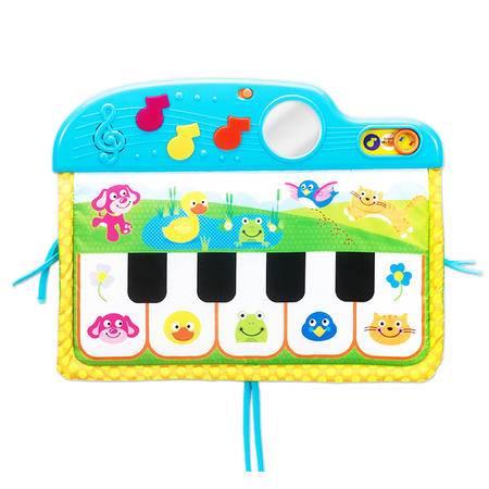 正品英纷婴儿钢琴健身架婴儿音乐架 宝宝脚踏钢琴健身器