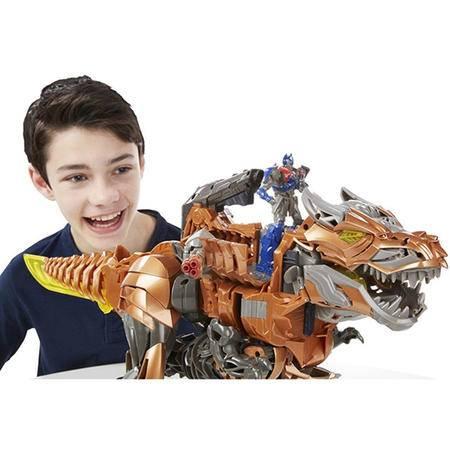 孩之宝 变形金刚4电影4 恐龙战士收藏级超狂暴钢锁 HS.TRA-A6145