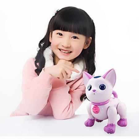 盈佳 儿童玩具礼物 智能机器狗遥控玩具电子猫早教故事机  YJ.2059