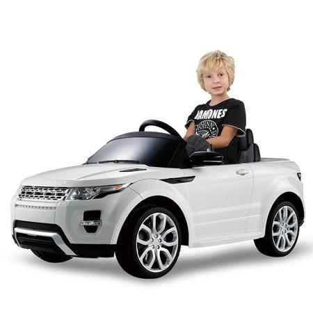 星辉婴童儿童电动车四轮电动汽车路虎童车男女小孩玩具车遥控可坐