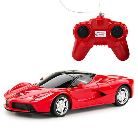 星辉车模遥控汽车法拉利恩佐男孩儿童玩具漂移赛车模型1:24