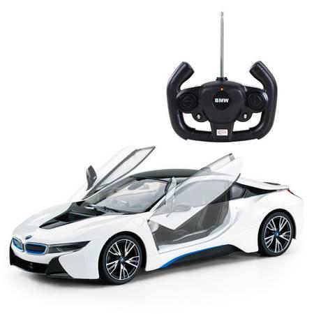 星辉rastar宝马i8漂移遥控车 可开门USB充电遥控汽车 玩具汽车