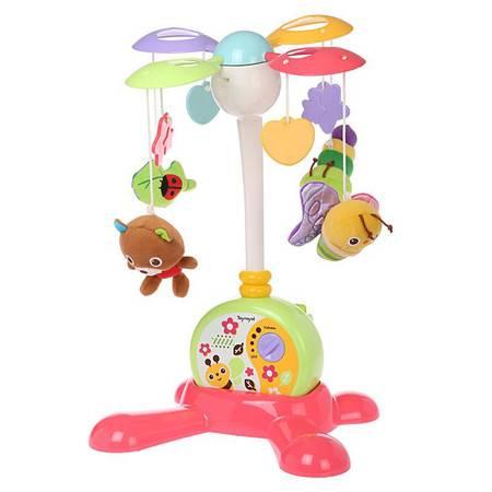 专柜正品 皇室 TR5820 缤纷两用床边音乐铃 婴幼儿益智 早教玩具