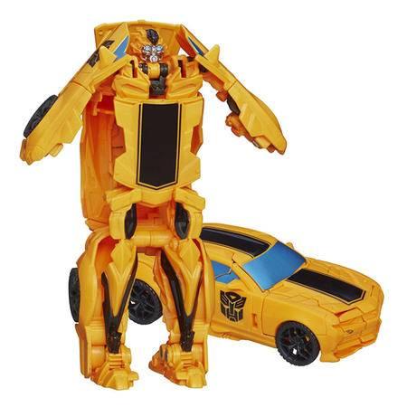 孩之宝变形金刚4一步变形机器人大黄蜂模型儿童玩具男孩礼物A7070