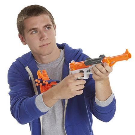 孩之宝NERF热火精英系列软弹枪软弹子弹 户外对战儿童玩具枪  HS.NER-A9315