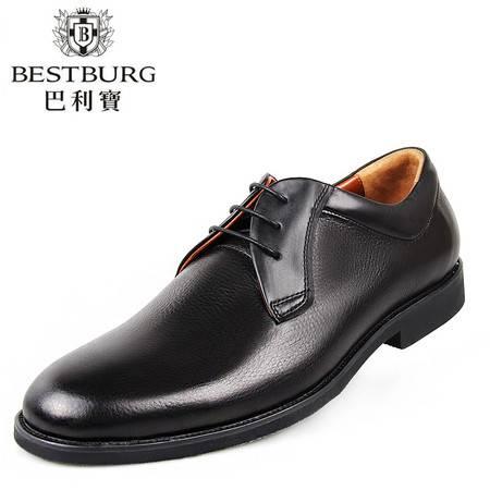 巴利宝新款经典时尚男鞋 舒适英伦时尚潮流皮鞋