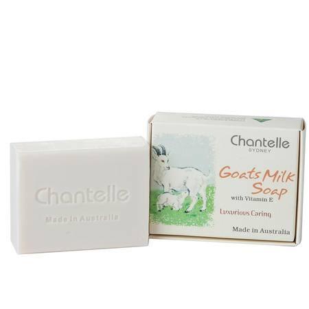 香娜露儿chantelle澳洲进口山羊奶手工皂洁面洗脸皂卸妆香皂