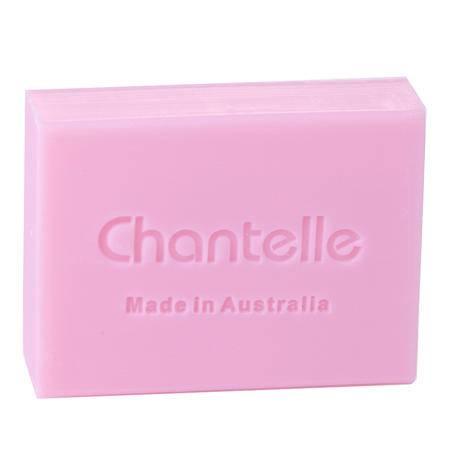 香娜露儿chantelle玫瑰精油皂手工皂澳洲洗脸洁面皂 保湿滋养洁面