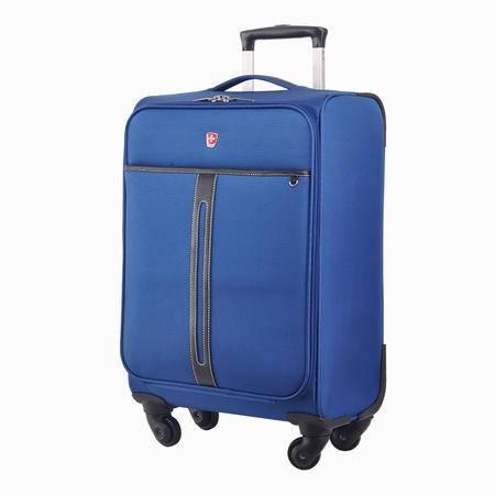 SWISSMOBILITY 瑞士瑞动 商务旅行拉杆箱 蓝色