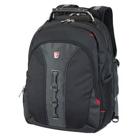 SWISSMOBILITY 瑞士瑞动商务休闲背包 MT-7329-02T00黑色