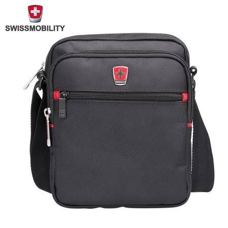 SWISSMOBILITY 瑞士瑞动 商务休闲单肩背包