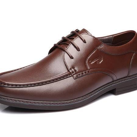 鳄鱼恤2015春季新款男士商务正装头层牛皮系带男鞋英伦真皮鞋正装