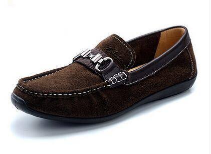 木林森夏季新款豆豆鞋 男士休闲鞋懒人套脚驾车鞋英伦男鞋
