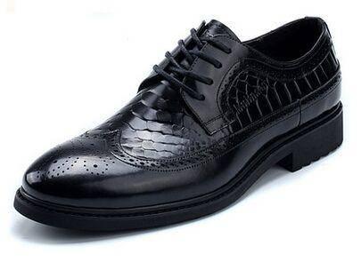 木林森新款春正品男鞋经典复古布洛克皮鞋休闲舒适低帮鞋子