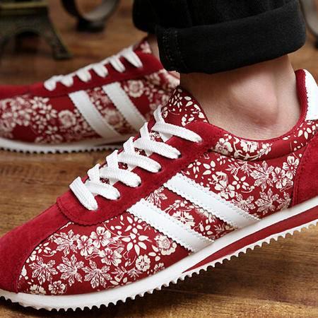 2015春夏新款帆布鞋男鞋韩版潮流条纹透气男休闲板鞋男单鞋