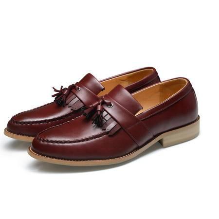 2015春季新款男士真皮休闲皮鞋子单鞋时尚流行男鞋