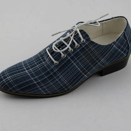 夏季男单鞋潮尖头鞋豆豆鞋品牌男鞋潮皮鞋