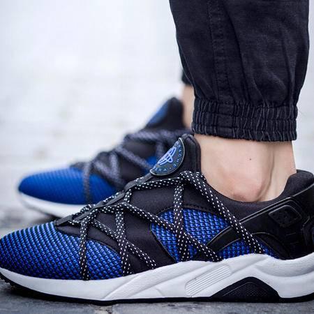 2015秋季潮鞋男鞋韩版潮流休闲运动鞋男透气跑步鞋气垫男板鞋子