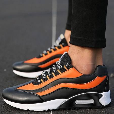 秋季学生运动鞋男韩版潮流男士休闲鞋低帮鞋气垫跑步鞋男鞋子