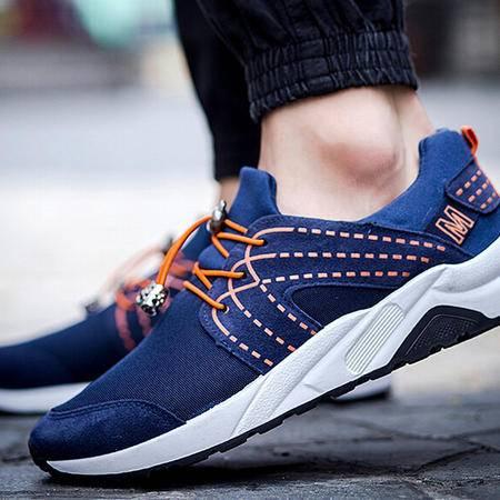 2015秋季男士运动休闲鞋潮鞋韩版潮流男鞋跑步鞋男帆布鞋板鞋