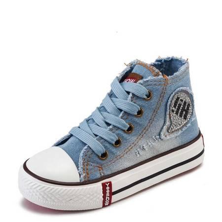 童鞋子男童鞋儿童帆布鞋2016春款儿童鞋子中小童鞋