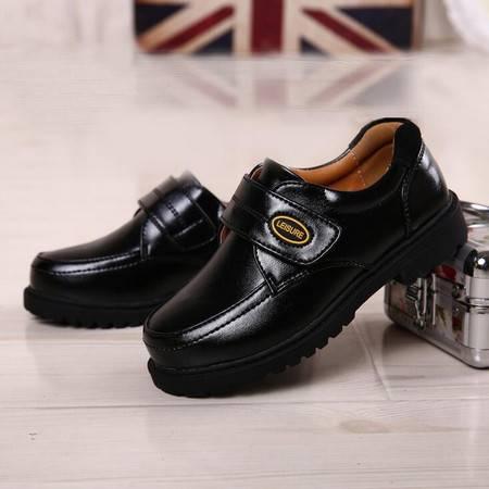 2016春季新款儿童黑色皮鞋男童真皮学生鞋演出鞋韩版潮流演出童鞋