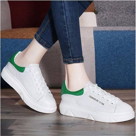 真皮休闲鞋平底单鞋2016夏季新款英伦女鞋低帮鞋圆头鞋子