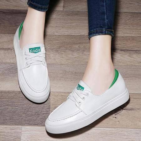平底单鞋圆头鞋子2016夏季新款英伦女鞋时尚低帮鞋休闲鞋