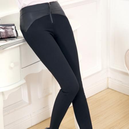 2016新款韩版薄款修身显瘦铅笔小脚休闲长裤打底裤休闲裤 女式