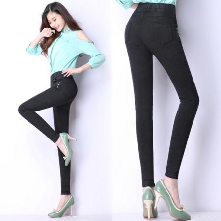 2016小脚铅笔裤 韩版女式休闲裤修身显瘦紧身休闲长裤 女裤