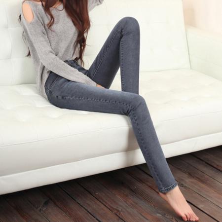 2016新款时尚韩版牛仔裤女式小脚铅笔裤长裤修身牛仔长裤