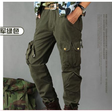 2016新款战地工装裤野地工装军装军旅宽松长裤多口袋裤