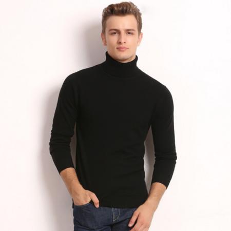 2016秋季新品男士羊毛衫百分百长袖男式针织衫毛衣套头中年男装