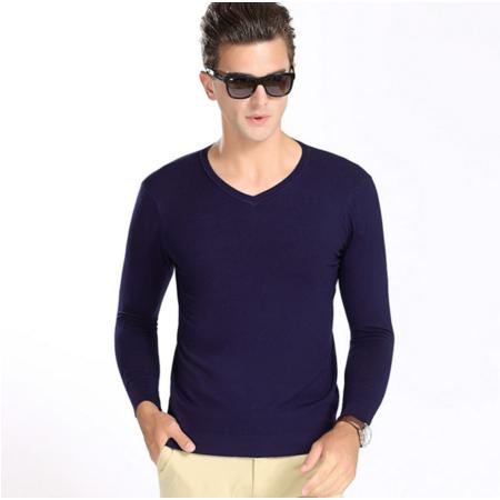 2016秋季新款男式针织衫毛衣男士毛衫长袖套头中老年人男毛衣