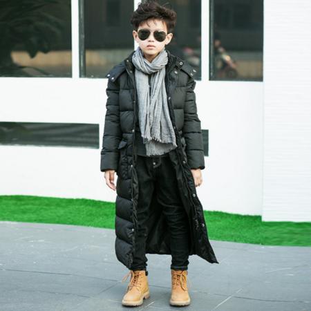 2016男童冬季棉衣外套儿童装中大童棉服加厚9韩版中长款棉袄潮12岁