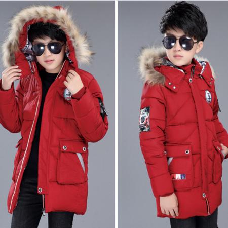 男童棉衣加厚冬款 韩版2016新品中大童立体口袋保暖外套棉衣潮流